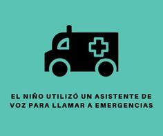 #Curiosidades #niños #Seguridad Un niño de cuatro años utiliza Siri para llamar a emergencias y salva a su madre