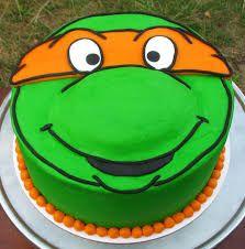Αποτέλεσμα εικόνας για ninja turtle cakes pinterest