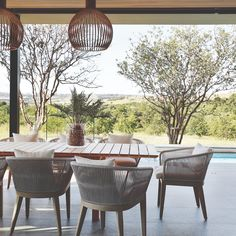 Steyn City — Private House Co Acacia, Porches, Palette, House Viewing, Outdoor Furniture Sets, Outdoor Decor, African Design, Living At Home, Architecture