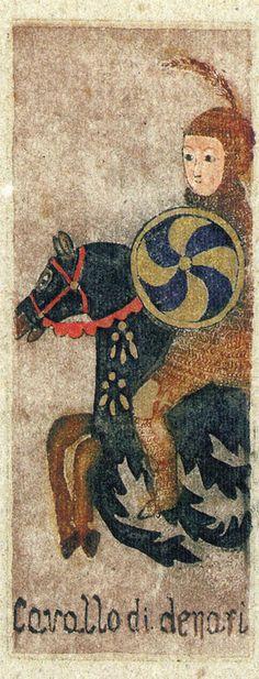 Knight of Coins - La Corte dei Tarocchi