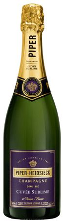 Piper-Heidsieck Cuvee Sublime-best Champagne ever!