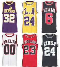 Nba teams inspired basketball #jerseys heat #miami chicago la fakers #brklyn men',  View more on the LINK: http://www.zeppy.io/product/gb/2/121643832433/