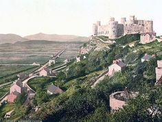 The castle, Harlech Castle, Wales