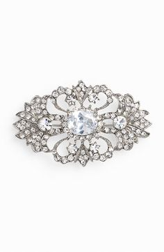 This would be the perfect brooch to use on a bouquet and then pass on to the next person getting married. It is perfect for something borrowed! #Nordstromweddings