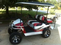 For Sale Custom ezgo gas golf cart @ www.xtremetoyzclassifieds.com