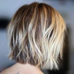 short shaggy bob haircut for women 2017