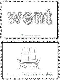 Went~ emergent reader