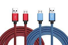 Cable USB Micro de alta velocidad de Sincronización y Carga para Samsung, Nexus, LG , Motorola, HTC, Nokia - https://complementoideal.com/producto/tienda-socios/cable-usb-micro-de-alta-velocidad-de-sincronizacin-y-carga-para-samsung-nexus-lg-motorola-htc-nokia-telfonos-inteligentes-de-android-6ft-2m/