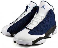 Air Jordan 13 (XIII) Retro - French Blue / University Blue - Flint Grey   KicksOnFire.com