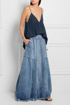 CHLOÉ Silk crepe de chine camisole --> Click to buy