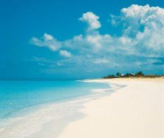 Visit Turks and Caicos, some of the most beautiful beaches in the world.