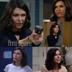 Character Monday: Anna Devane Favorite relationship: Anna and Robin's relationship is my favorite they are wonderful