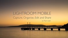 This FREE 25 page eBook will get you up to speed with the Lightroom Mobile workflow. Content Page, Learning Centers, Lightroom, Centre, Beach, Water, Free, Outdoor, Gripe Water