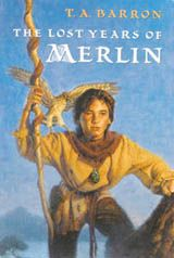 The Lost Years of Merlin- 5 book series recommended by Kate, similar in some ways to Percy Jackson.