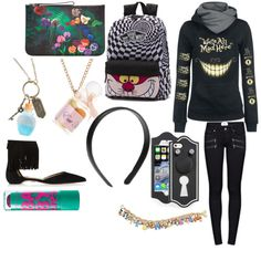 Unbenannt #17 by kirimaus on Polyvore featuring Mode, Paige Denim, Paul Andrew, Vans, Disney, The Bradford Exchange, Marc by Marc Jacobs and H&M