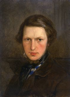 Ford Madox Brown Self-portrait (c.1844) He  was an early member of The Artists Rifles.