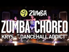 "KRYS - ""Dancehall Addict"" / Zumba® choreo by Alix, Pierre & Adrien - YouTube"