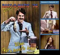 Drop the bass - that's the whole bass - into the Super Bass-o-matic '76.