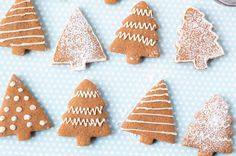 This lighter soft gingerbread cut out cookie recipe is easy to make and perfect for holiday decorating!