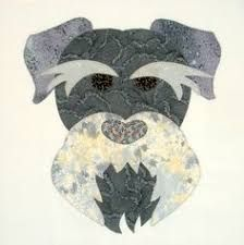 Image result for Free schnauzer face patch patterns