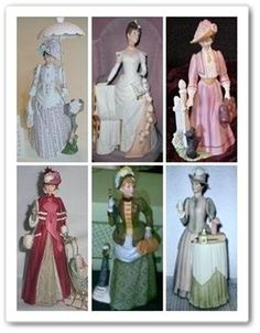 old Avon figurines I have all of these!  They were my mother's