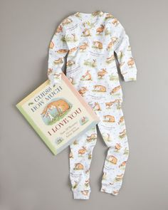 Guess How Much I Love You Pajama and Book Set by Books To Bed at Bergdorf Goodman.