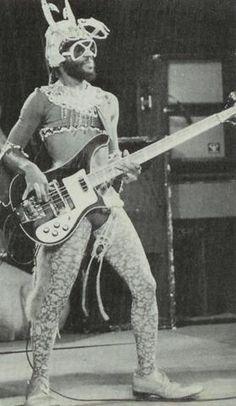 Cordell 'Boogie' Mosson  Parliament-Funkadelic