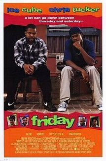 Friday is a 1995 American stoner buddy comedy film directed by F. Gary Gray in his directorial debut, and starring Ice Cube, Chris Tucker, Nia Long, Bernie Mac, Tiny 'Zeus' Lister Jr, and John Witherspoon. The film revolves around 16 hours in the lives of unemployed slackers Craig Jones and Smokey, who must pay a drug dealer $200 by 10:00 PM that night.