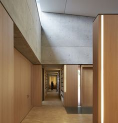 Britten Pears Archive by Stanton Williams. #Wood and #Concrete