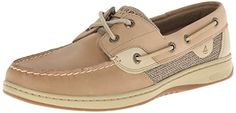 awesome Sperry Top-Sider Women's Bluefish,Linen/Oat,7.5 W US