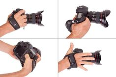 Spider Holster wants to give you a better grip on your digital SLR.  If you've ever used a hand strap, you may have noticed that it has a tendency to get in the way. Whether it's when you're trying to swap batteries or memory cards or when you pick up the camera for a quick shot without slipping your hand in.