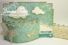 Bendy Fold Card, Tutorial on my blog post http://www.apathofpaper.blogspot.ca/2011/10/top-tip-tuesday-designer-paper.html