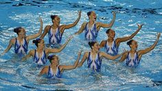 Australian joukkue taitouinnin MM-kisoissa.