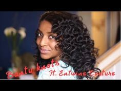 Bantu Knot Curls Ft. Entwine Couture + GIVEAWAY!