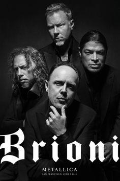 Justin O'Shea Brioni Kering Metallica 1