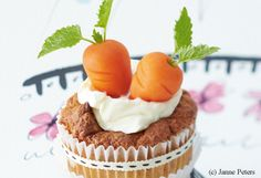 Karotten Cupcakes