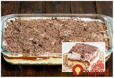 Archívy Recepty - Page 42 of 795 - To je nápad! Trifle Desserts, Sweet Desserts, Tiramisu, Banana Bread, Cheesecake, Good Food, Food And Drink, Eat, Ethnic Recipes