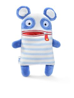 Sorgenfresser soft toys - these soft and cuddly toys will help banish your little one's worries. Simply write down any worries on a piece of paper and zip into the toys mouth, overnight the doll will help eat the worries away! Worry Monster, Best Kids Toys, Sewing Pillows, Animal Pillows, Zipper Bags, Toy Store, Inspirational Gifts, Softies, Cool Toys
