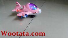 Mainan Pesawat Anak Hello Kitty