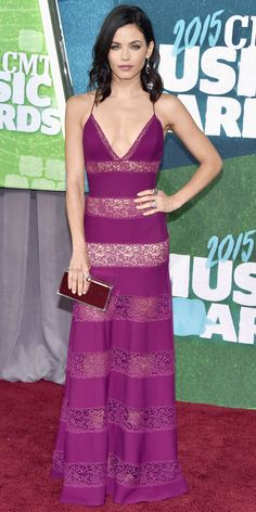 2015 CMT Music Awards Red Carpet Arrivals: See the Best Looks - Jenna Dewan-Tatum from #InStyle