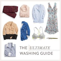 How often should you really wash something? From bras to button-ups, check out our handy guide for laundry day at blog.stitchfix.com.