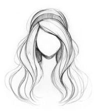 34 Trendy drawing ideas hair sketches - How to: Anime - Art Sketches Cool Art Drawings, Pencil Art Drawings, Art Drawings Sketches, Easy Drawings, Pencil Sketching, How To Draw Sketches, Easy Hair Drawings, How To Sketch, Sketching Tips