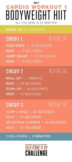 College Workout Plan, Cardio Workout At Home, At Home Workouts, Workout Plans, Workouts Hiit, Fitness Exercises, Weight Workouts, Week Workout, Hiit Bodyweight Workout