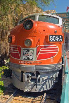 California Zephyr, replica, California Adventure, Anaheim, CA