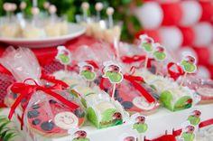 Ladybug themed birthday party via Kara's Party Ideas KarasPartyIdeas.com #ladybugparty #karaspartyideas #ladybugs #eventplanning (13)