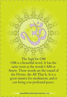 AUM = my authentic spiritual prayer.  i always feel good after i chant this powerful word.