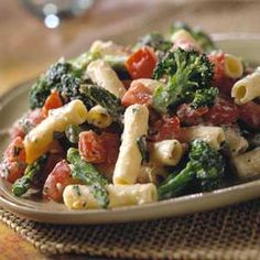 Ziti with Ricotta and Vegetables.  I'd eat this. :-)