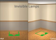 /Invisible Lamps
