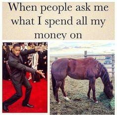 When people ask what I spend all my money on...