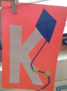Preschool Letter K craft